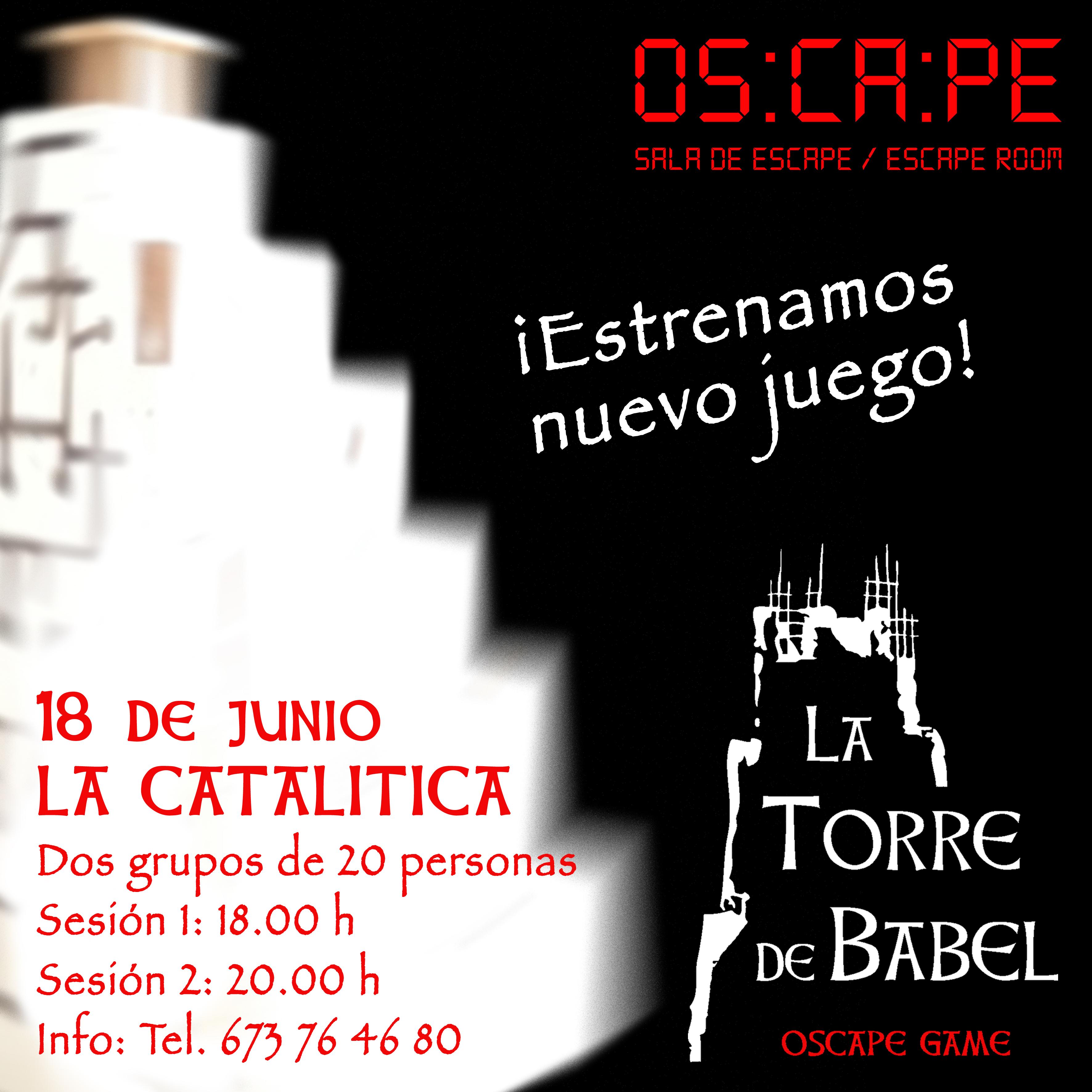 ¡Presentamos nuevo juego en La Catalítica!